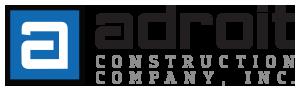 Adroit Construction Company Logo